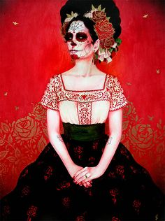 Sylvia Ji really does the most beautiful Dia de los Muertos themed art. http://www.sylviaji.com/