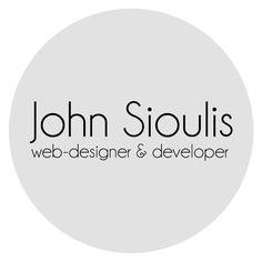 John Sioulis web-designer & developer Logo