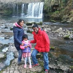 Sunday's tour was Heart of the Park and Waterfall Country with a family orginally from India Brecon Beacons, Walking Tour, Niagara Falls, Behind The Scenes, Waterfall, National Parks, Tours, India, Country