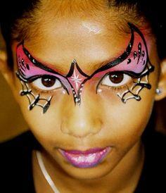 Pink web mask