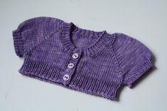 Ravelry: Little Scapulae pattern by Kelly van Niekerk Shrug Knitting Pattern, Bolero Pattern, Baby Knitting Patterns, Baby Patterns, Baby Knitting Free, Knitting For Kids, Crochet For Kids, Crochet Baby, Toddler Cardigan