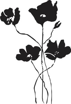 poppy field Black Love, Black And White, Stencil Designs, Leaf Necklace, Poppy, Vinyl Decals, Stencils, Disney Characters, Fictional Characters