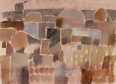 Eduard Bargheer, Südliche Stadt 4, 1972