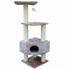 Majestic 52 Inch Casita Cat Tree | Pawsitively Purrfect Animal Supplies
