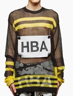 Knit patch from S/S2016 HBA Hood By Air
