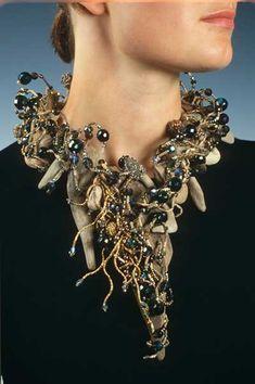 Necklace | Peter Ciesla of Bazyli Studio, USA