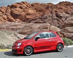OK not all Fiat Abarths come in black and it looks pretty racy in New Fiat, Fiat Abarth, Cute Cars, Fiat 500, How To Look Pretty, Vehicles, Wheels, Wallpaper, Black