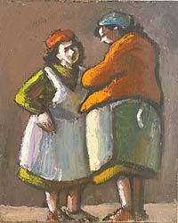 norman cornish paintings | Norman Cornish. Courtesy Northumbria University