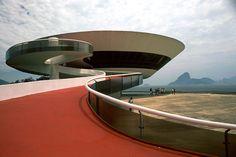 Museum Of Modern Art, Niterói, Brazil