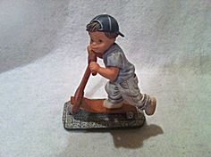 Nadal Boy Figurine On Scooter Marked And Signed 2338/7000 (Image1)