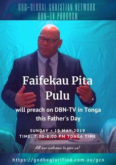 GBGGCN DBN-TV Sunday 19 May 2019 – Faifekau Pita Pulu – Facebook AD Tv, Christian, Facebook, Movie Posters, Film Poster, Popcorn Posters, Christians, Film Posters, Posters
