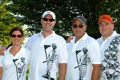 Three Bones and an OB shirt - sharp looking group!