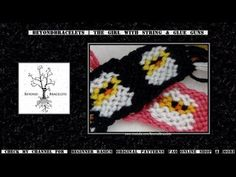 ► Friendship Bracelet Tutorial 44 - Intermediate - The Easter Chick (Alt...