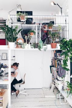 Casa com muito verde na decoração  - Danielle Noce