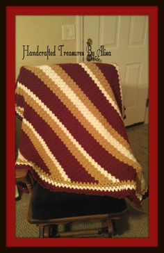 Florida State Seminoles Crochet afghan