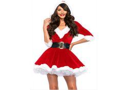 Christmas Costume Sexy Santa