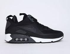 #Nike #AirMax 90 #Sneakerboots Black #sneakers
