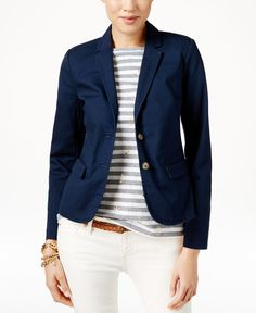 Tommy Hilfiger Two-Button Blazer