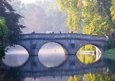 Clare College Bridge / Cambridge, England