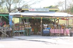 A shop on the side of the road.