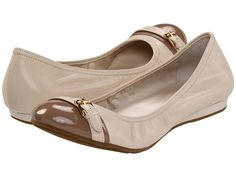 Cole Haan Air Reesa Buckle Ballet White Pine/Cove - Zappos.com Free Shipping BOTH Ways $94.99