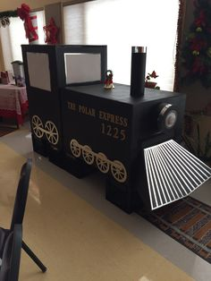 Polar Express Train, Recycling, Kid Games, Upcycle