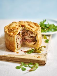 GBBO contestant Kate Hendry shares her childhood recipe of a chicken and ham pie that's best served cold on picnics or for lunch.