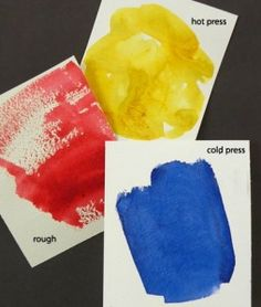 About Watercolor Paper