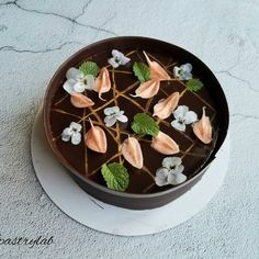 @joannie_chan:「 Chocolate mousse +strawberry jam+almond joconde 🥰 #homebaked #chocolatemousse #cakephotography… 」 Cake Photography, Strawberry Jam, Mousse, Panna Cotta, Almond, Chocolate, Ethnic Recipes, Desserts, Food
