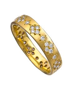 Adel Chefridi Gold Diamond Band
