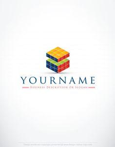 3070--Rubik's-Cube-logo-design-templates