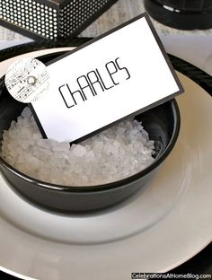 name card trio set #diy