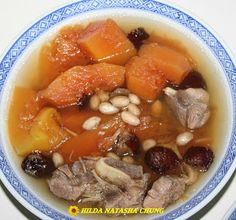 Superb Mothers: SM Fan Sharing - Papaya Soup With Pork Spare-Ribs