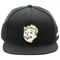 Fallout Vault Boy Vault-Tec Snapback Cap Hat