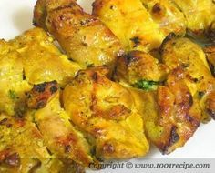 Persian Chicken Thighs: boneless/skinless thighs-Juice 4 med tsp cup Water, Tbs Bell Pepper, Onion, tbsp Parsley, chopped-Salt&Pepper~ would use green onions instead Marinated Chicken, Bbq Chicken, Chicken Recipes, Barbecued Chicken, Grilled Chicken, Chicken Kebab, Boneless Chicken, Lemon Chicken, Middle East Food