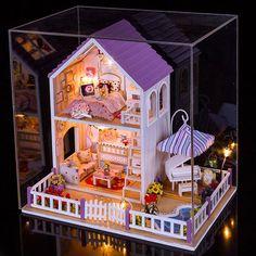 https://www.i-sabuy.com/ พร้อมส่ง>> DIYโมเดลบ้าน โมเดลจิ๋ว บ้านตุ๊กตา ชุดอุปกรณ์ครบเซ็ต