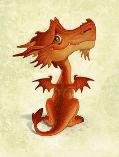 An important, rare, stunning (you heard that before, yes?)picture of a little dragon. Lol.  paul kidby   Tumblr