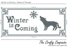 geek with curves: Stitching a tauntaun (geeky cross stitch patterns)