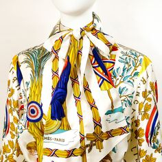 Carre de Paris, Shop Authentic Hermes Scarves, Shawls and More