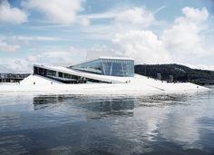 Национальный театр оперы и балета в Осло