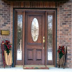 fiberglass entry doors with sidelights - Google Search | entrence ...