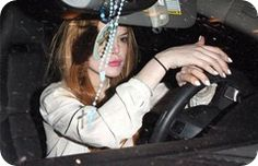 Car accident of Lindasy Lohan with the tuck due to car's break failure
