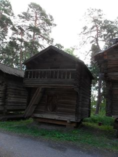old storehouse Helsinki, Finland, Cabin, House Styles, Home Decor, Decoration Home, Room Decor, Cabins, Cottage