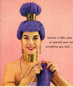 Knitting couture