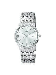 Adee Kaye Women's AK8224-LWT Blaze Collection Stainless Steel Watch