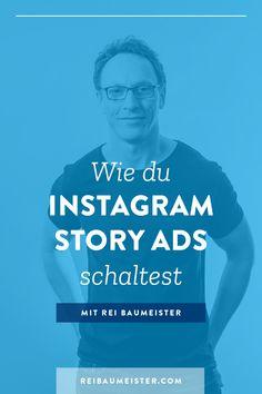 """Stichwort """"Instagram Stories"""" – Willst du auch mitInstagram Story Adsdurchstarten? Dann erfahre jetzt in meinemFacebook Marketing TutorialaufDeutsch, wie duInstagram AnzeigenfürStorieserstellst und was du beachten solltest. Klicke hier und erhalteTipps und Tricksvom Experten fürFacebook MarketingundInstagram Werbung. #ReiBaumeister#InstagramWerbung#InstagramMarketing#FacebookMarketing#InstagramStoryAds Social Media Trends, Social Media Plattformen, Social Media Marketing Business, E-mail Marketing, Social Media Branding, Facebook Marketing, Content Marketing, Instagram Hacks, Instagram Story"""