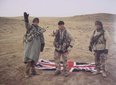 """""""Scud Hunters"""" of the British Special Air Service during the Gulf War"""