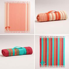 Wide Stripe Blanket | 20 Perfect Picnic Blankets