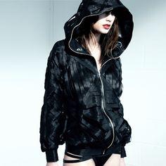 SHOWNO Womens Irregular Loose Plus Size Long Hoodie Sweatshirts Trench Coat