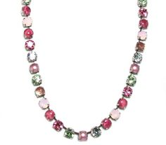 "Mariana ""Rose"" Antique Silver Plated Swarovski Crystal Necklace *** Check out the image by visiting the link."